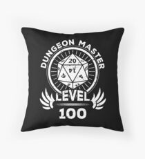 Level 100 Dungeon Master RPG Gamer Gift Floor Pillow