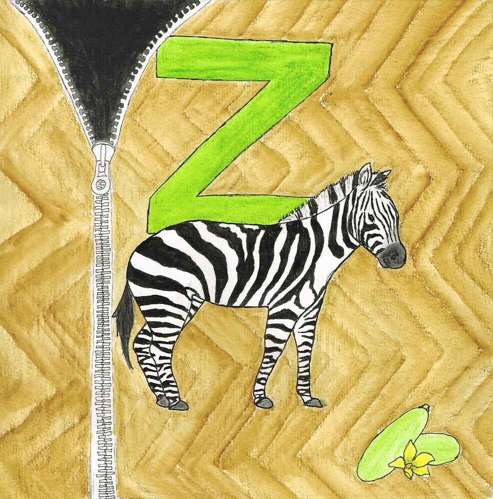 Z is for Zebra by Renee Rigdon