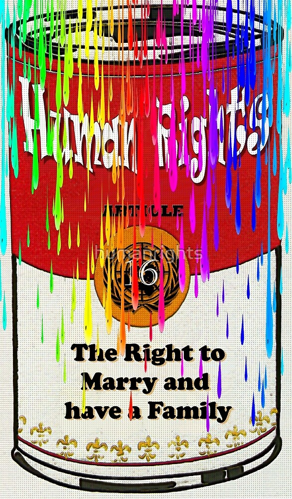 same sex marriage art - your human right by humanrights