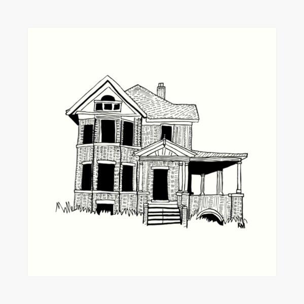 2019 01 24 building Art Print