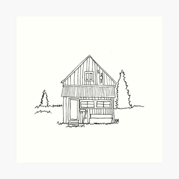 2019 01 22 building Art Print