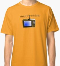 Fan of TV - Retro TV - Television - Some of you may not have seen one of these!! Classic T-Shirt