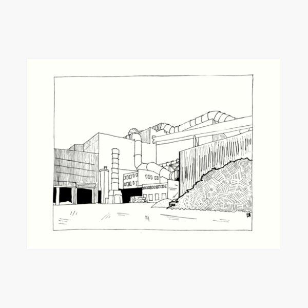 2019 01 25 building Art Print