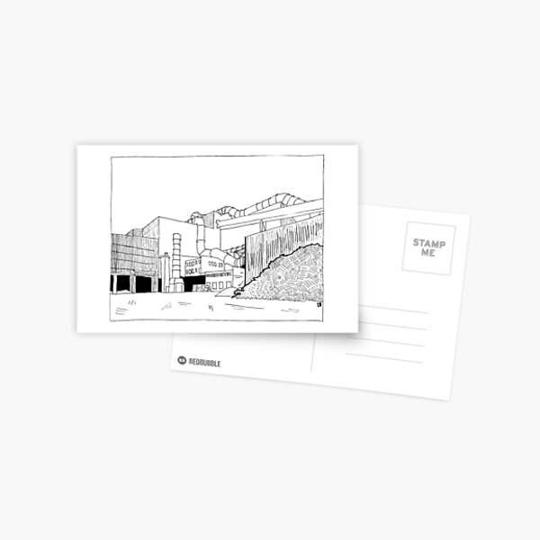 2019 01 25 building Postcard