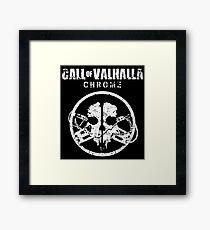 Call of Valhalla: Chrome Framed Print