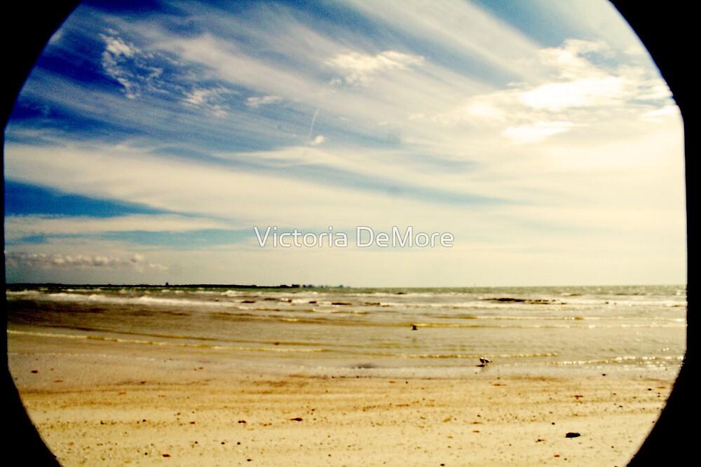 Vintage Beach Lines by Victoria DeMore