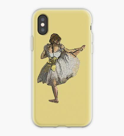 Ballet Dancer Grunge iPhone Case