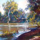 Fast Flowing Goulburn by Lynda Robinson