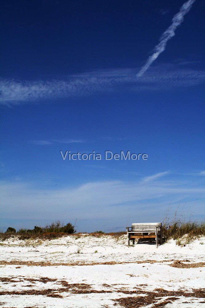 You Can Find Me Sitting Under the Big Blue Sky by Victoria DeMore