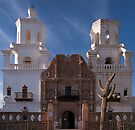San Xavier del Bac Facade by Richard G Witham