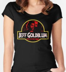 JURASSIC GOLDBLUM Women's Fitted Scoop T-Shirt