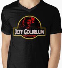 JURASSIC GOLDBLUM Men's V-Neck T-Shirt