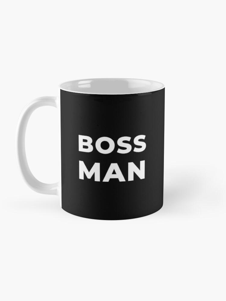Alternate view of Boss Man Mug