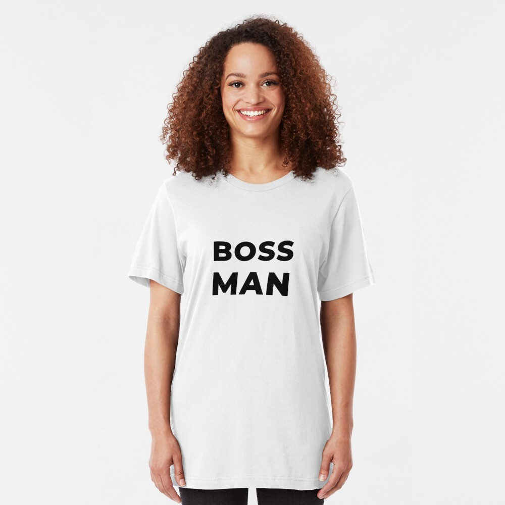 Boss Man (Inverted) Slim Fit T-Shirt