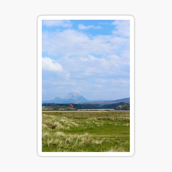Mt. Errigal from Carrickfinn Donegal Ireland Sticker