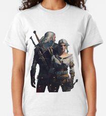 The Witcher 3 Geralt und Ciri Classic T-Shirt