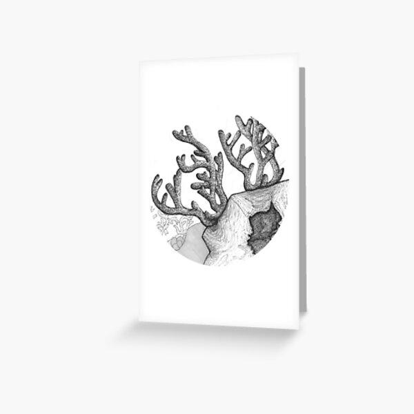 Reach (Coral Scene) Greeting Card