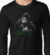 Bollo fears...Mighty Boosh Long Sleeve T-Shirt