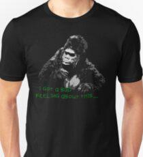 Bollo fears...Mighty Boosh Slim Fit T-Shirt