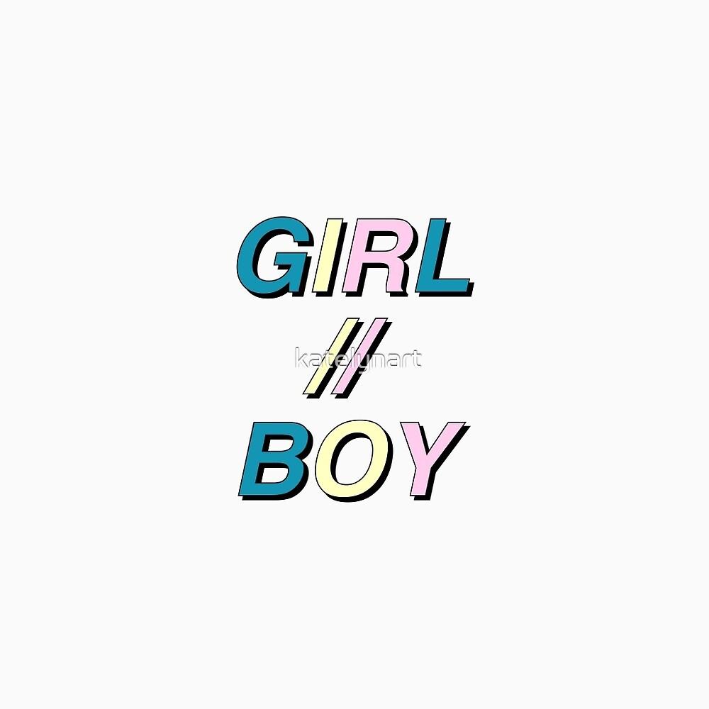 tumblr girl boy by katelynart