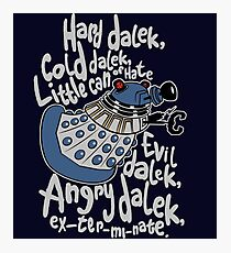 Little Can of Hate (Movie Dalek) Photographic Print