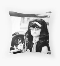 Miss Priscilla Throw Pillow