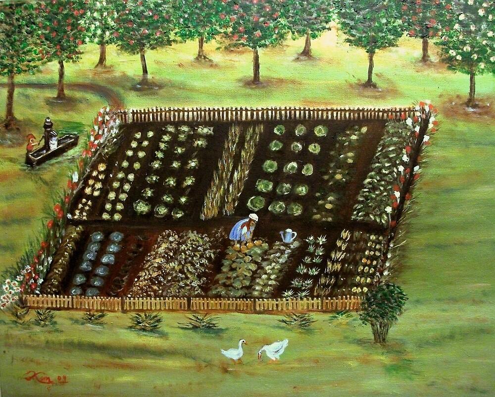 The Garden by KensArt2