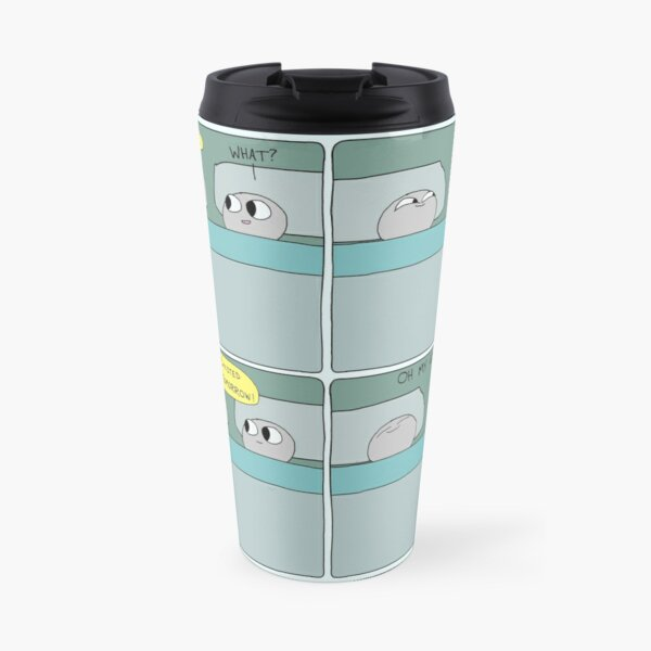 Coffee Anticipation Travel Mug
