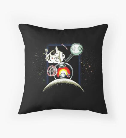 Odyssey Space 2001 Back Throw Pillow