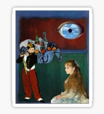 Rothko, Cezanne, Manet, Magritte, Renoir Sticker