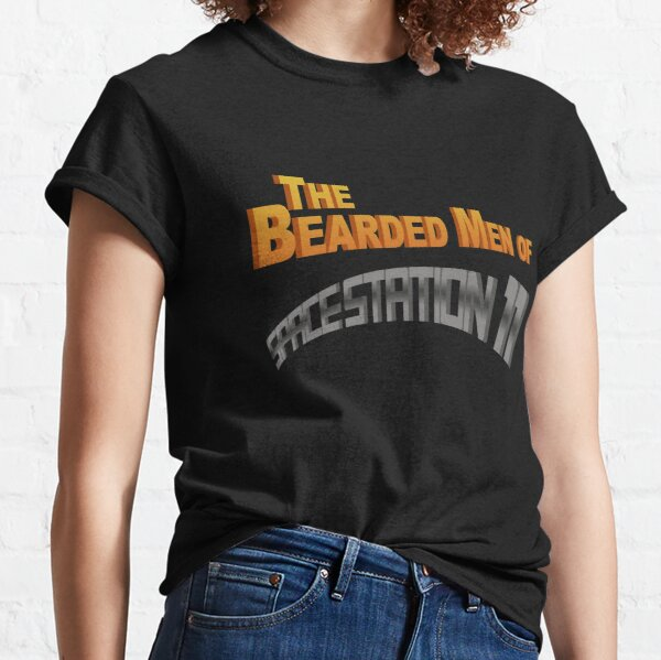 The Bearded Men of Space Station 11 Classic T-Shirt