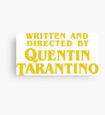 Lienzo Escrito y dirigido por Quentin Tarantino