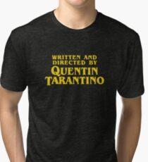 Camiseta de tejido mixto Escrito y dirigido por Quentin Tarantino