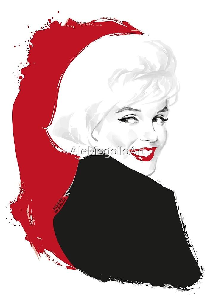Marilyn Blonde Test von Alejandro Mogollo Díez