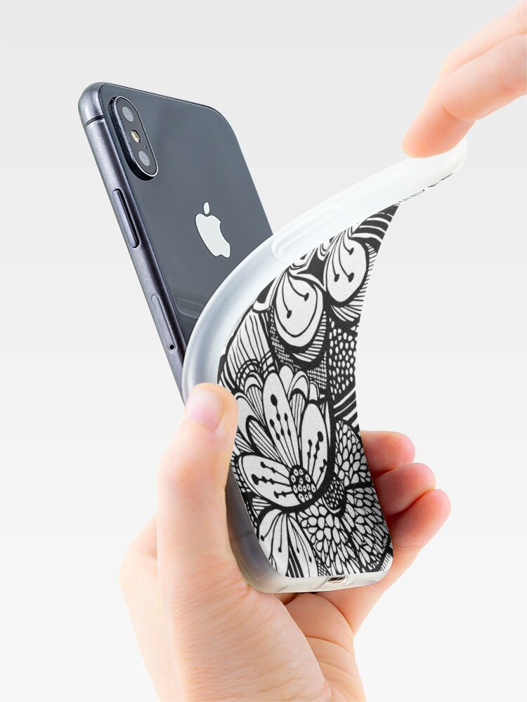 Alternate view of Flower iPhone Case