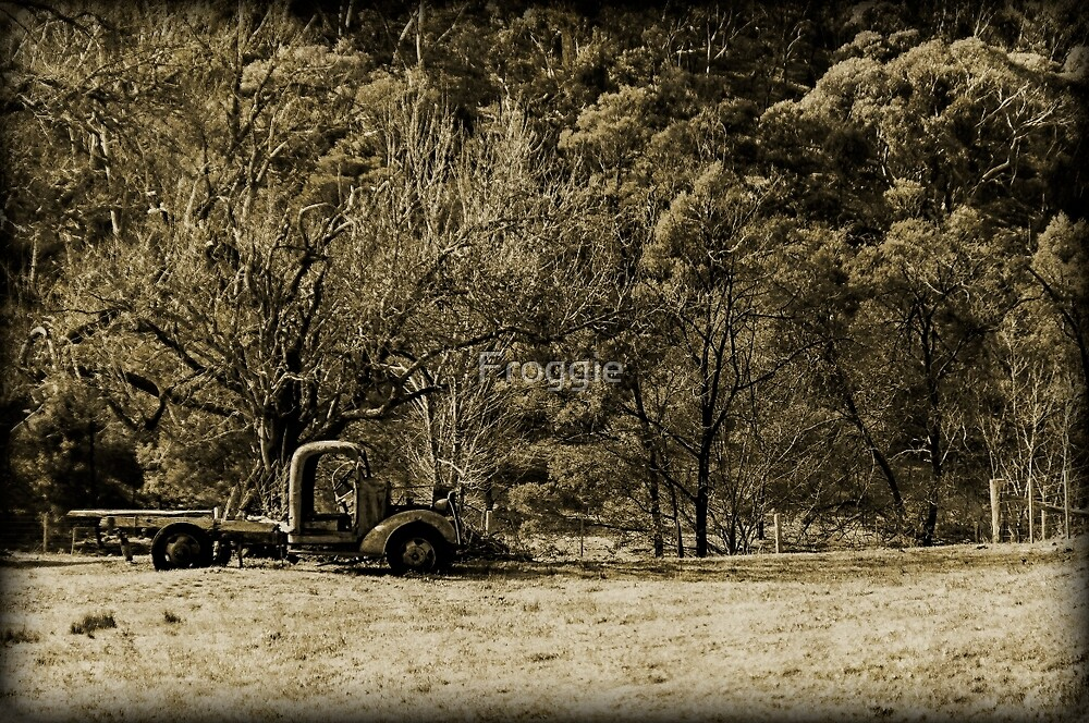 The old truck by Froggie