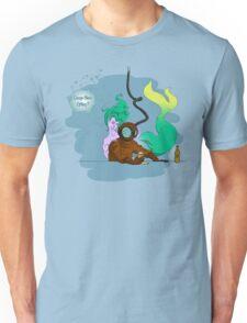 Deep Sea Hit - Coloured Lines T-Shirt