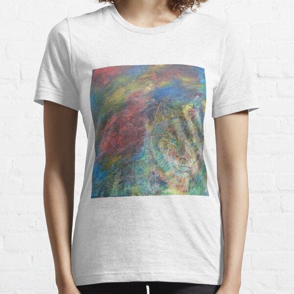 Wolf in colour haze Essential T-Shirt
