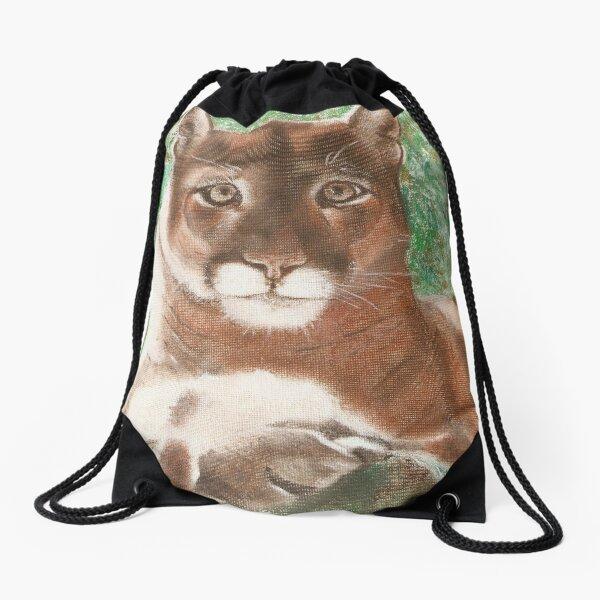Lion at rest. Drawstring Bag