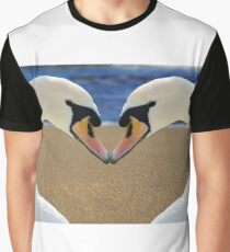 Swan Love Graphic T-Shirt