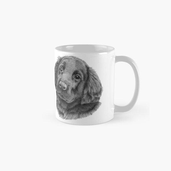 Flatcoated retriever puppy Classic Mug