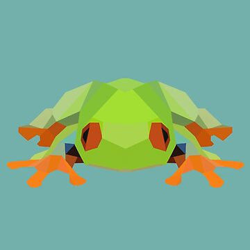 Low-Poly Frog by meichi