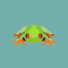 Low-Poly Frog by Articles & Anecdotes