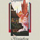 Ostpreussen Tourist Brochure Cover by edsimoneit