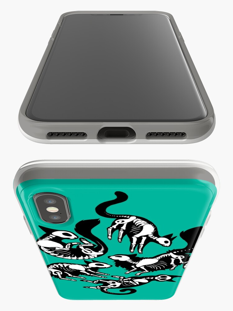 Alternate view of Creepy Kitty iPhone Case & Cover