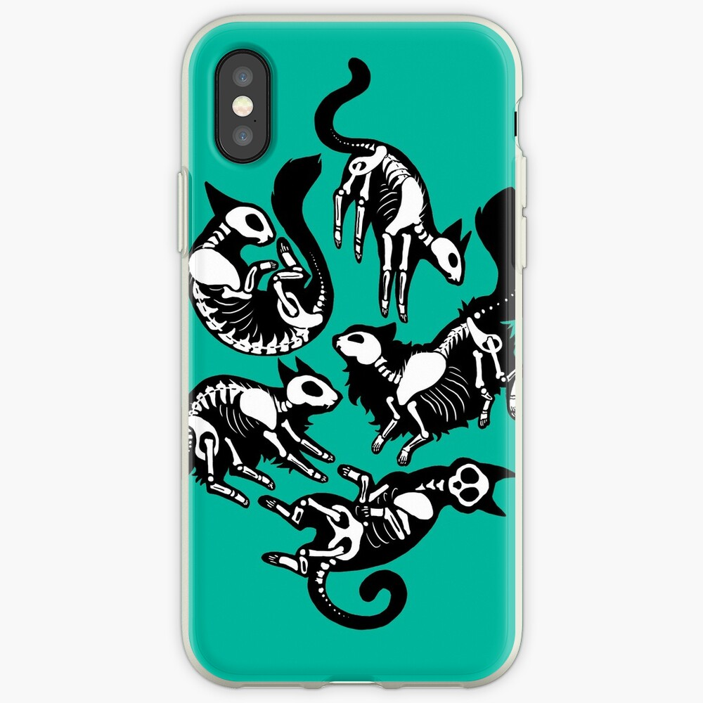 Creepy Kitty iPhone Case & Cover