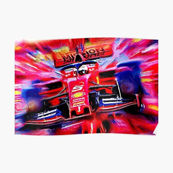 Sebastian Vettel #5  Poster