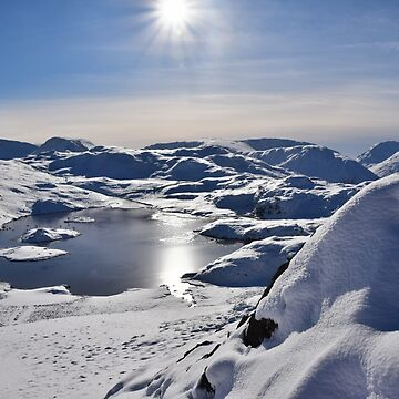 Lake District: Arctic Landscape at Angle Tarn by rob3003