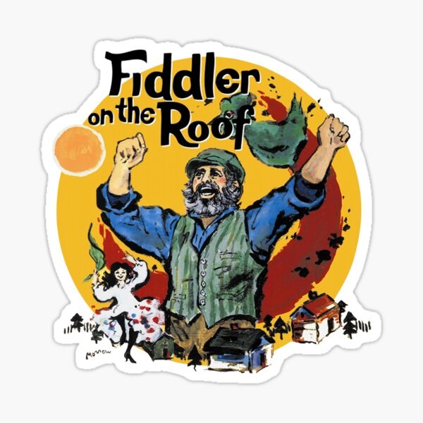 Fiddler on the Roof Sticker