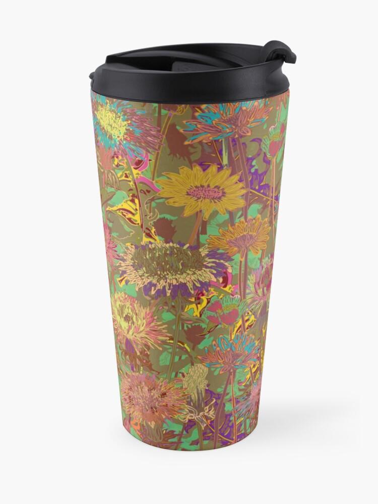 Alternate view of Dandelion Dawn Travel Mug